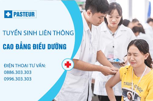 Tuyển sinh Liên thông Cao đẳng Điều dưỡng năm 2018