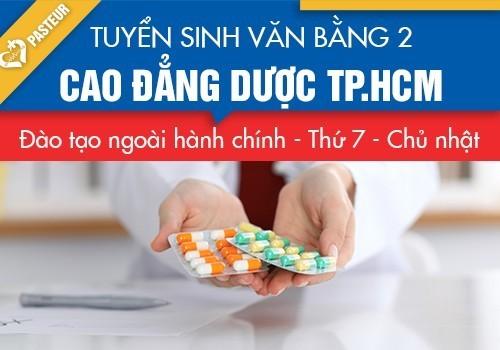 Địa chỉ học VB2 Cao đẳng Dược TP.HCM năm 2018 ở đâu?