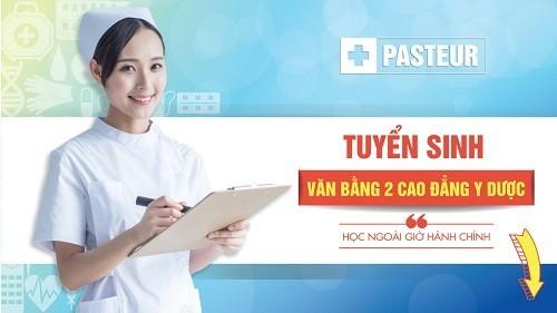 Tuyển sinh Văn bằng 2 Cao đẳng Dược Pasteur tại TP.HCM