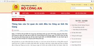 Bắt khẩn cấp ông Vũ Trọng Lương thủ phạm nâng điểm ở Hà Giang