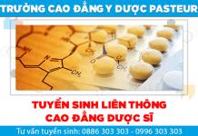 """""""Ấn tượng"""" với chương trình học Liên thông Cao đẳng Dược Pasteur TPHCM"""