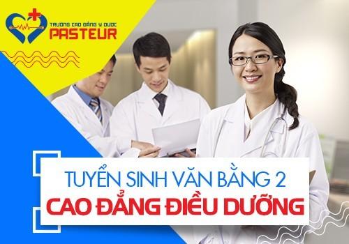 Sinh viên sẽ được học các kiến thức chuyên sâu về ngành Điều dưỡng