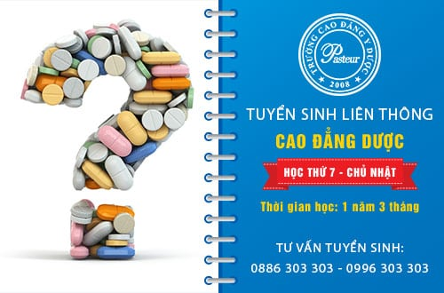 Thời gian học Liên thông Cao đẳng Dược chỉ cần 1 năm 3 tháng là tốt nghiệp