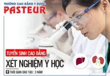 Thông báo chiêu sinh Cao đẳng Kỹ thuật Xét nghiệm Y học TPHCM năm 2019
