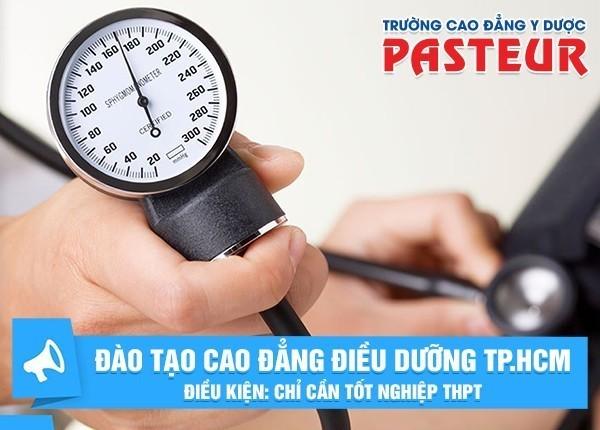 Tuyển sinh Cao đẳng Điều dưỡng TPHCM hệ chính quy chỉ cần tốt nghiệp THPT