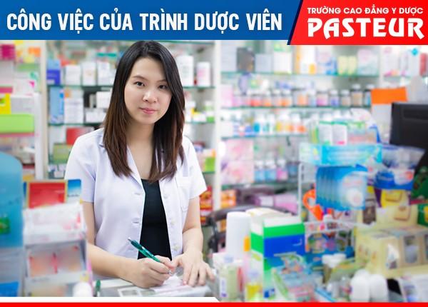 Trình Dược viên có nhiệm vụ tư vấn cách sửa dụng, giới thiệu các loại thuốc mới,...