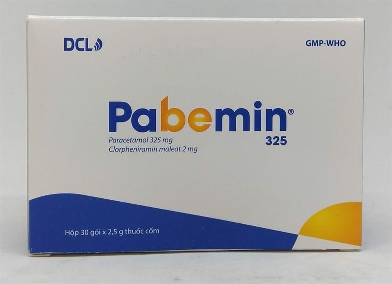 Thuốc Pabemin quy định liều dùng và cách sử dụng