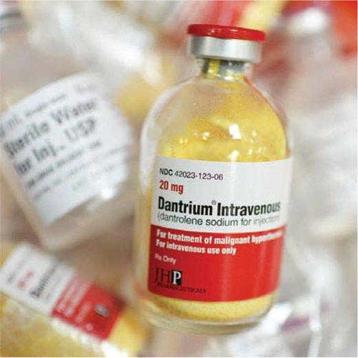 Một dạng của thuốc Dantrolene