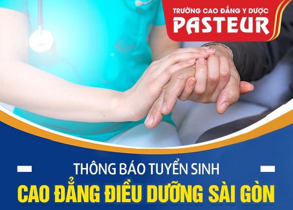 Thông báo tuyển sinh Cao đẳng Điều dưỡng Sài Gòn năm 2021