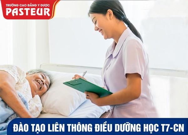 Đào tạo Liên thông Cao đẳng Điều dưỡng học T7&CN năm 2021